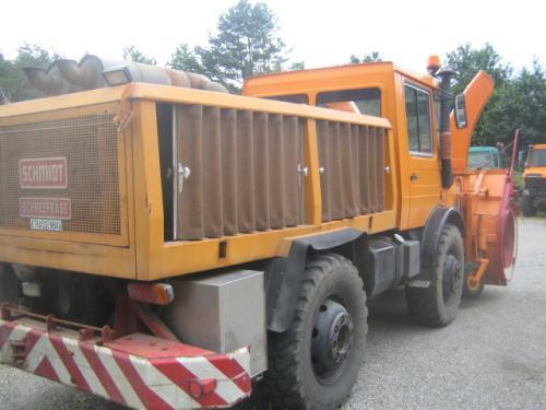 Unimog U1300 Schneefräse