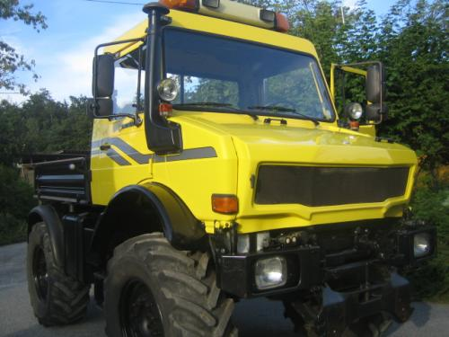 Unimog U1600 214 PS Agrar