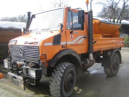 Unimog U1650 - 214 PS